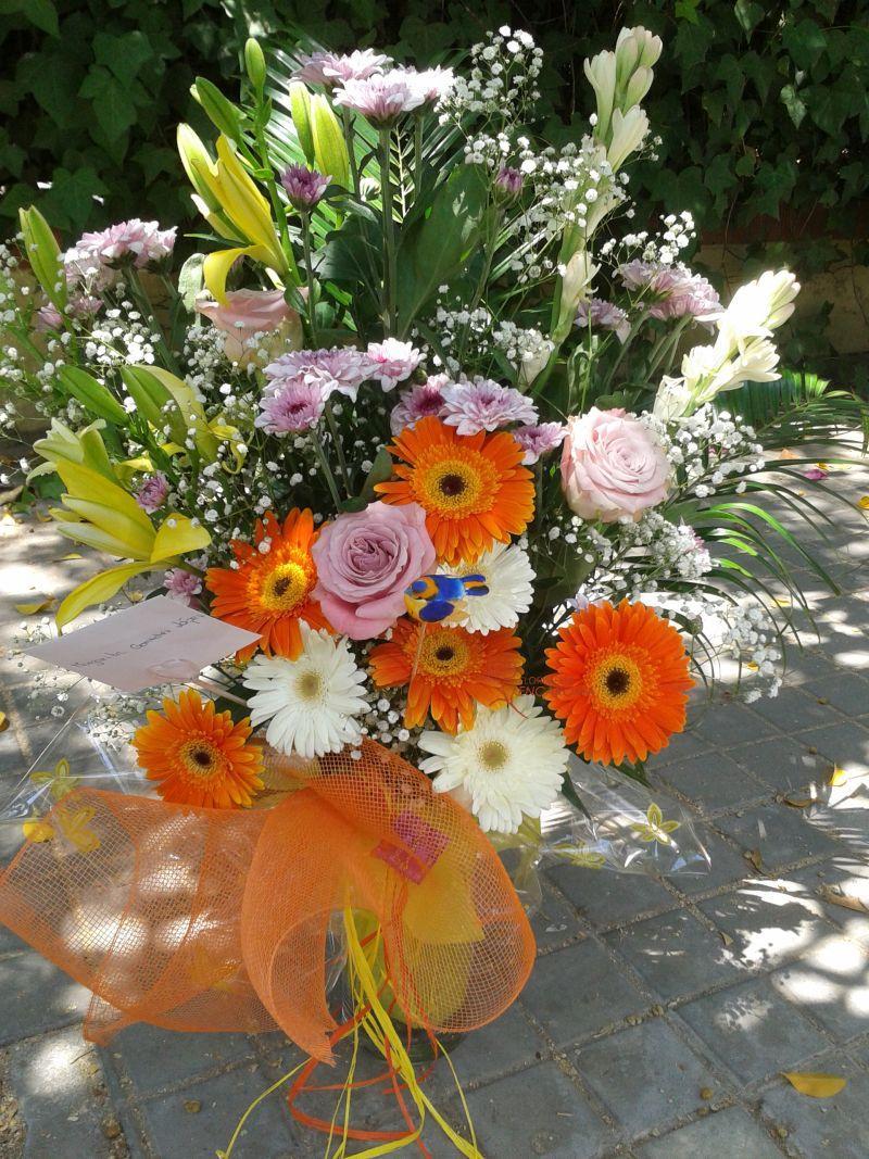 regala flores en el día de la madre en Dos Hermanas