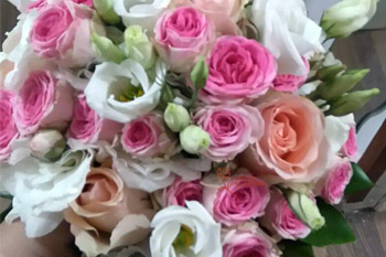 Rosas en ramo