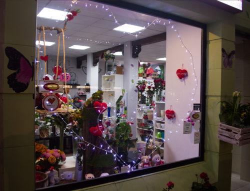 En navidad: regalar ramos de flores y centros de mesas